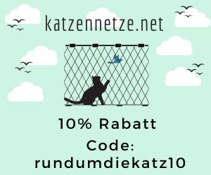 Rabatt- Gutschein Code für katzennetze.net